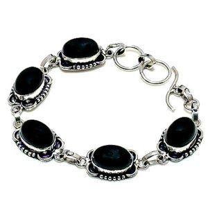 Handmade Black Onyx Bracelet